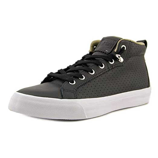 Converse Fulton Mid Men US 9 Black Sneakers