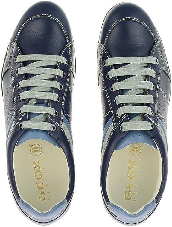 Geox Symbol U42A5A 00043 C4002, Chaussures de Ville à Lacets