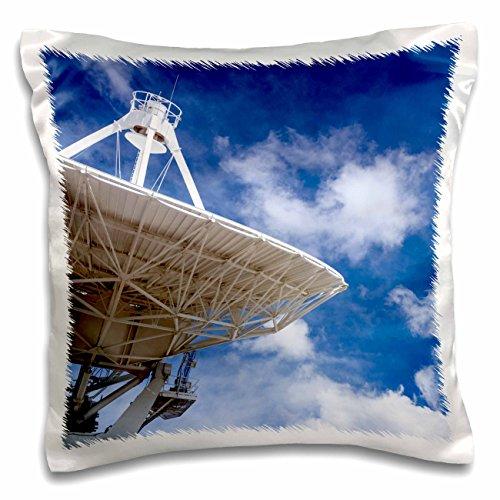 nt - Astromony - Radio telescope points to the sky, Socorro, New Mexico, USA - 16x16 inch Pillow Case (pc_259757_1) (Socorro Throw)