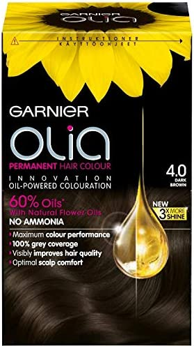 Juego de 3 tintes permanentes Garnier Olia, sin amoníaco para ...