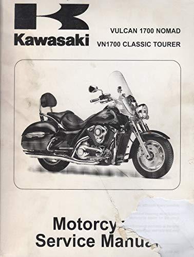 2009 KAWASAKI MOTORCYCLE VULCAN 1700 NOMAD SERVICE MANUAL 99924-1414-31 (716)