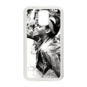 YUAHS(TM) New Fashion Cover Case for SamSung Galaxy S5 I9600 with Rihanna YAS372943