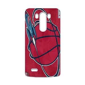 Houston Rockets NBA White Phone Case for LG G3 Case