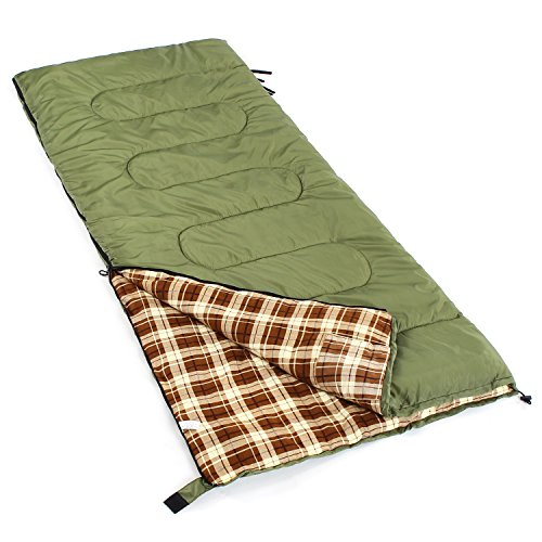 Camp-Solutions-XL-23F-Flannel-Lined-Sleeping-Bag-79x-32