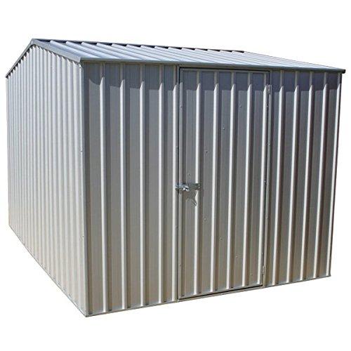 absco 7 ft 5 en X 9 FT 10 en metal Premier Apex - Cobertizo de jardín titanio de Waltons: Amazon.es: Jardín