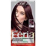 hair colors - L'Oréal Paris Feria Permanent Hair Color, 36 Chocolate Cherry (Deep Burgundy Brown)