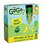 GoGo SqueeZ AppleBanana, Applesauce on the Go,4 Count ( Case of 12 ), 48 Total