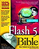 img - for Flash 5 Bible book / textbook / text book