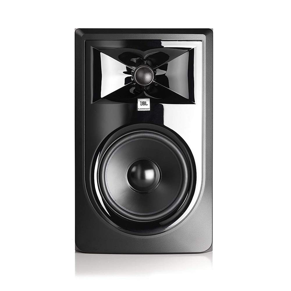 JBL 306P MkII Powered 6.5'' Two-Way Studio Monitor with IP-M Isolation Pad (Medium, Single) & 20' XLR Cable Bundle by JBL (Image #3)