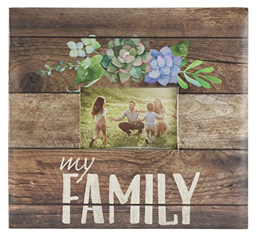 MCS MBI 13.5x12.5 Inch Family Theme Scrapbook Album with 12x12 Inch Pages (860128)