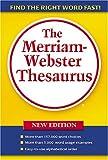 The Merriam-Webster Thesaurus, Merriam-Webster, 0877796378