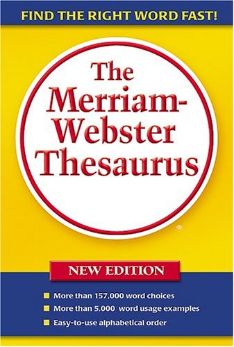Merriam Webster Thesaurus
