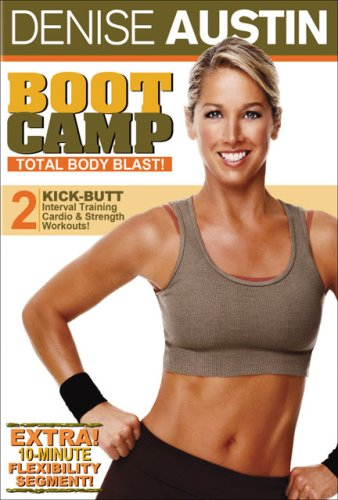 DVD : Denise Austin - Boot Camp Total Body Blast (Full Frame, Dolby)