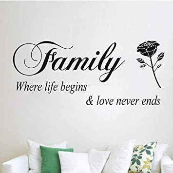 Familia Donde Comienza La Vida El Amor Nunca Termina Cotizaciones ...
