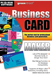 Business card factory deluxe 3 amazon software greenstreet business card maker pc colourmoves
