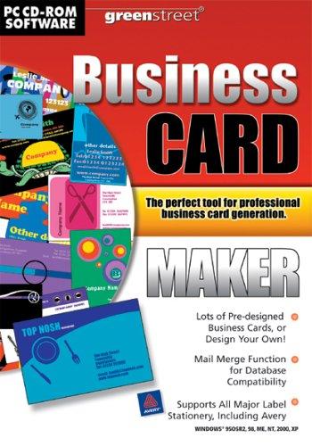 Greenstreet business card maker pc amazon software reheart Choice Image