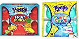 Marshmallow Peeps Cotton Candy and Fruit Punch Chicks 10ct Packs