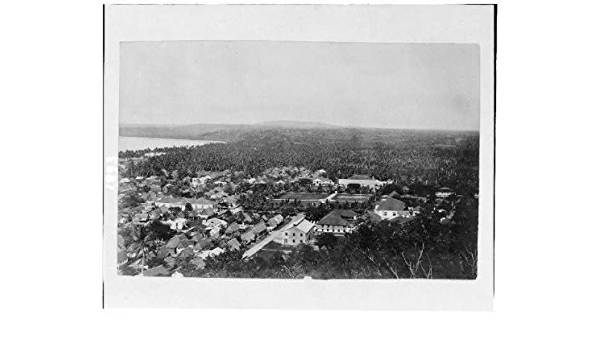 Amazon Com Infinite Photographs Photo Island Of Guam Portion Of City Of Agana From Fort 1912 Photographs