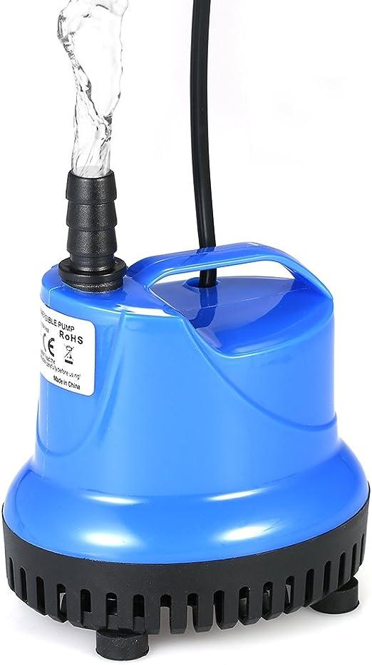 Galapara Bomba Sumergible, 1800L / H 25W Bomba de Agua Ultra Silenciosa para Pecera Acuario Jardín Estanque Fuente: Amazon.es: Productos para mascotas