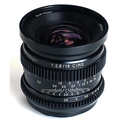 SLR Magic 18mm f/2.8 Full Frame Cine Lens (Sony E Mount) by SLR Magic
