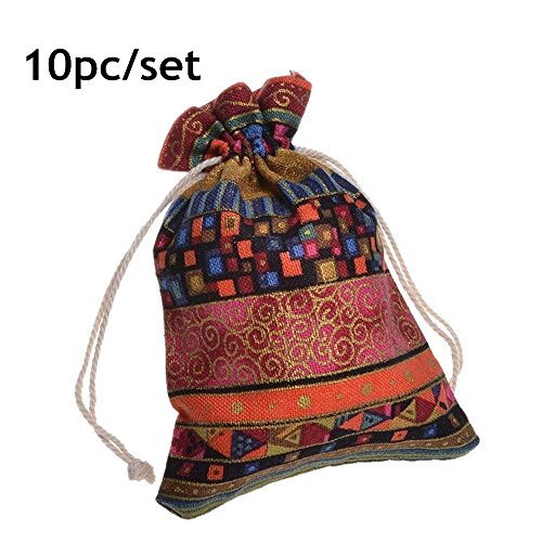 20512f52ad Startdy Egyptian Jewelry Pouches Drawstring