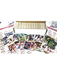 600 miscellaneous hockey cards from all brands ranging in years from 1970-2016 starter kit.