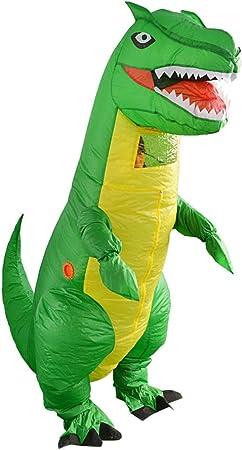 ZYJFP Disfraz de dragón Verde Inflable de Halloween, Cosplay ...