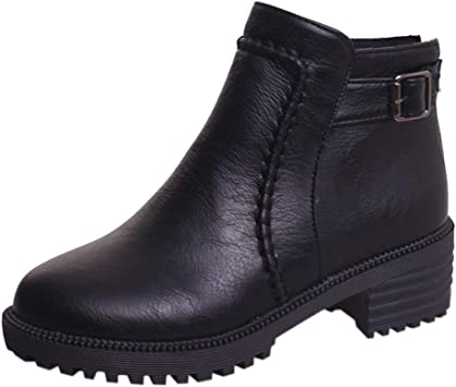 New Pug Durable High Platform Casual Ankle Boots Shoes Womens Girl Ladies Travel