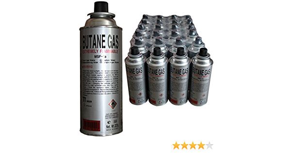 Cartucho de gas gas butano camping gas – Hornillo de gas barbacoa gas Grabadora