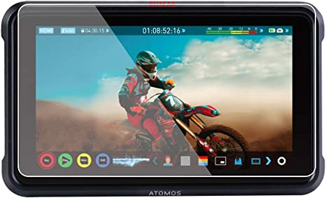 Foto&Tech 2 Sets Crystal Clear HD LCD Screen Protector Compatible with Atomos Ninja V 5