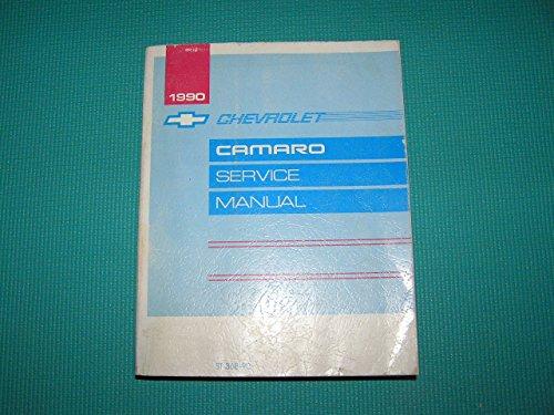 1990 Chevrolet Camaro Service Manual 1990