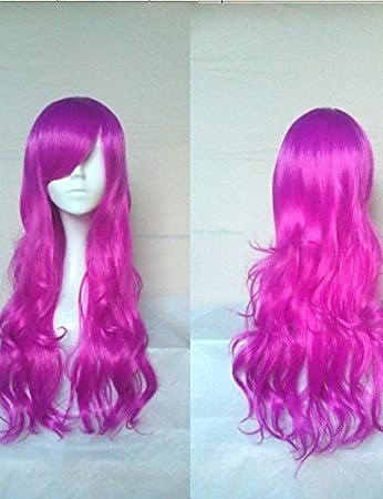 XH G Wonderful Cosplay Wig Super Long Wavy Synthetic Hair Wigs Natural  Animated Party Wigs 5 Colors  e1a2fac9b455