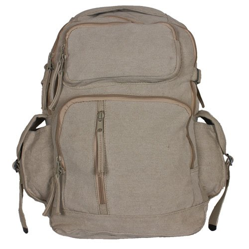 Fox Outdoor Products Retro Yukon Mountaineering Rucksack, Khaki