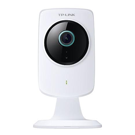 Tp-Link Nc260 - Cámara de Seguridad IP Interior, Cubo Blanco HD Día/Noche, Wi-Fi, Escritorio, 1280 x 720 Píxeles