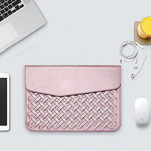 Wall of Dragon Luxury Durable Waterproof Weaving PU Leather Case for Air Retina 11 12 13 15 Fashion Protective Case for Mac book Pro 13 by Wall of Dragon (Image #2)