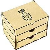 Azeeda 'Pineapple' Vanity Case / Makeup Box (VC00004489)
