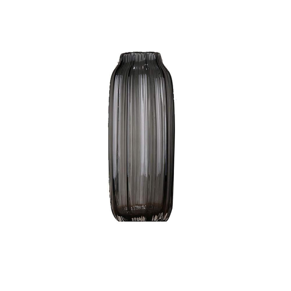 色ガラス花瓶用花緑植物結婚式の植木鉢装飾ホームオフィスデスク花瓶花バスケットフロア花瓶 (サイズ さいず : L l) B07R4DS5XS  L l