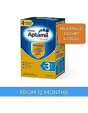 Aptamil Gold+ Toddler Milk Drink Stage 3 Multipack Sachet 4 pack