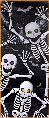 Halloween Skeleton Decoration Door Cover (30