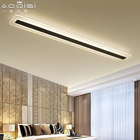 Cttsb Luz LED de techo barra larga oficina lámpara de estudio ...