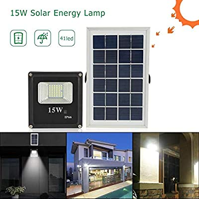 41LED Reflector 15W Luces Solares De Pared Proyector Exterior ...