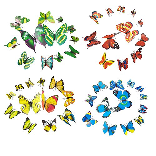 Butterfly Stickers Butterflies curtain Decoration