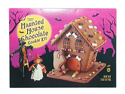 Trader Joes Halloween Haunted House Cookie -