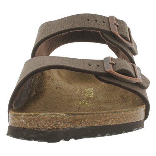 Birkenstock Girls' Roma 3 Strap Cork Footbed Sandal Mocha 34 M EU