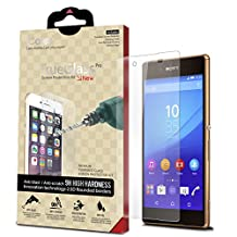 iCarez [Tempered Glass] Screen Protector for Sony Xperia Z3+ Easy Install with Lifetime Replacement Warranty [1-Pack,0.33mm] - Retail Packaging