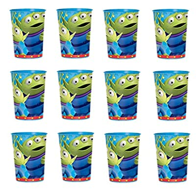 Disney Toy Story Reusable Cups (12x) ~ Birthday Party Supplies Plastic Favors: Toys & Games