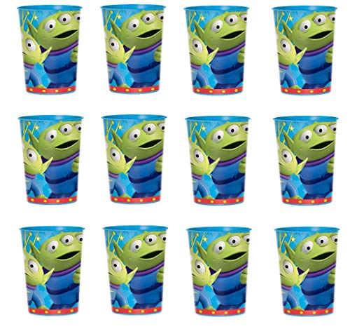 Disney Toy Story Reusable Cups (12x) ~ Birthday Party Supplies Plastic Favors -