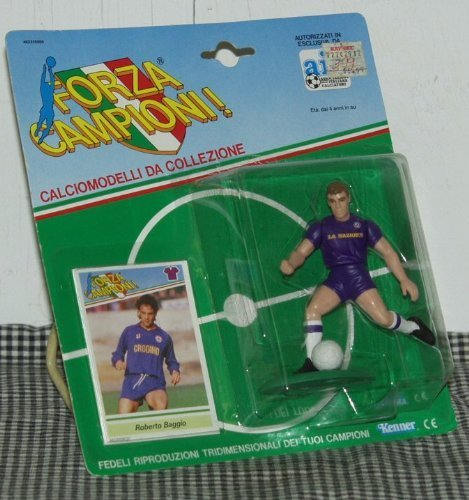 Starting Line Up Kenner Forza Campioni  Roberto Baggio Toy Figure