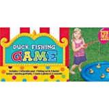 Amscan Carnival Fair Fun Duck Fishing Game Party Activity, Plastic , 3' x 3'' , (7 parts)