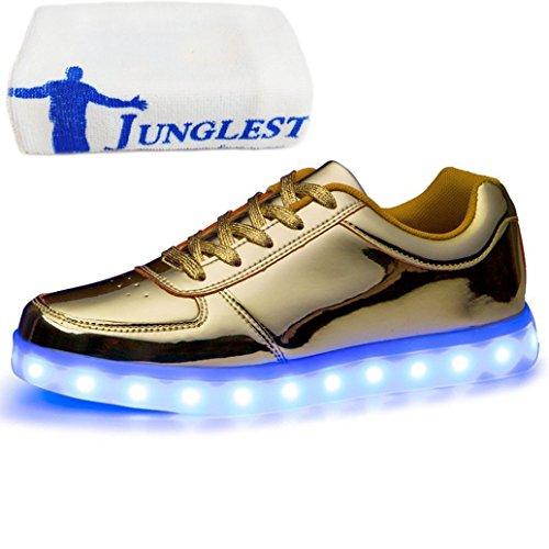 JUNGLEST (Présents:Petite Serviette) Baskets Lumin Or tOf2n6xQfA